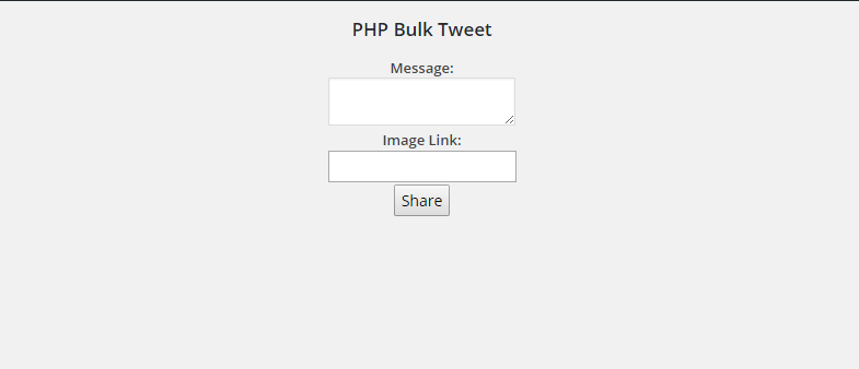Multiple Twitter Accounts Post In PHP Tweet