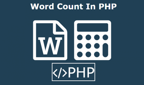 Word Count In PHP