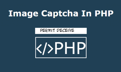 Human Readable Image Captcha In PHP
