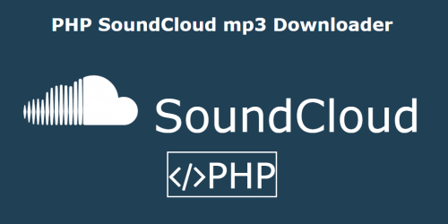 PHP SoundCloud mp3 Downloader