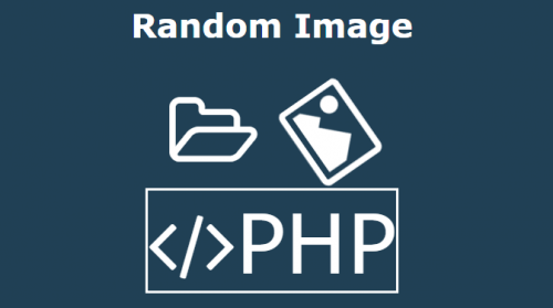 Get random image from directory in PHP