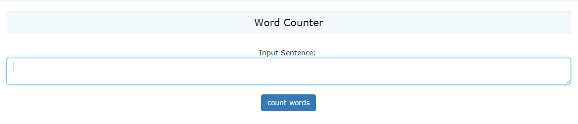Word Count Demo